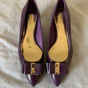 Coach Shoes - Coach heel